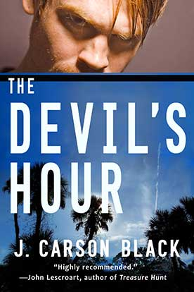 http://www.jcarsonblack.com/the-devils-hour/ book cover