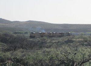 Union Pacific Train, Pantano Arizona