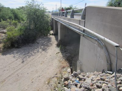 culvert and road