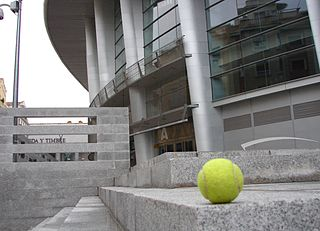 tennis ball at the RNC Convention